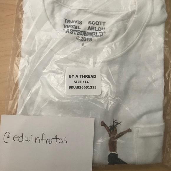 9b0dca6e0007 Off-White Shirts | Travis Scott X Off White Shirt Size L | Poshmark